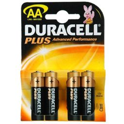 Duracel plus AA  4pcs