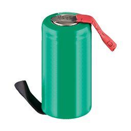 Herlaadbare Batterij - 1,2V 650mAh - 28,5 x 14mm