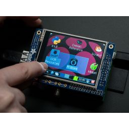 "***PiTFT 320 x 240 2.8"" TFT touchscreen for Raspberry"