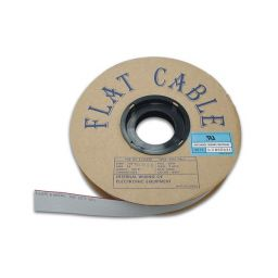 Flatcable 10P grijs AWG30