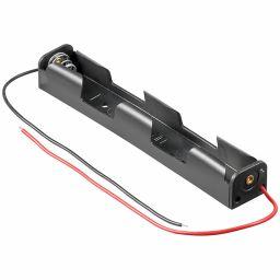 Batterijhouder voor 2xAA-cel achter mekaar