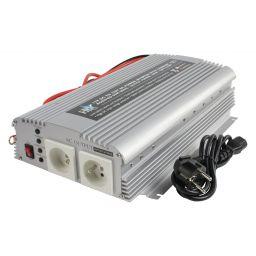 Omvormer 12V - 230Vac 1000W - met oplaadfunctie