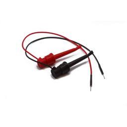 Set met 2 jumper wires naar clips