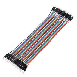 Jumper kabel mannelijk - mannelijk 40 x 18cm