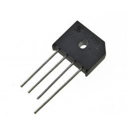 Bruggelijkrichter: 6A 560Vrms afm: 19x23x6,5mm