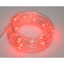 Dunne Led lichtslang op batterijvoeding - Rood - 3 meter - Met USB-aansluiting - Ledslinger