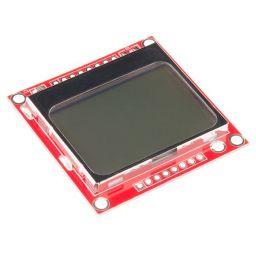 Grafische LCD 84x48 gebaseerd op Nokia5110