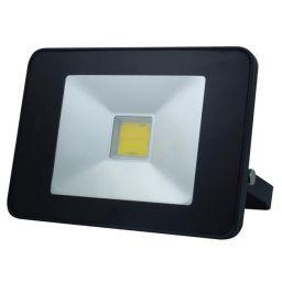 Design LED-schijnwerper met PIR - 20W Neutraal Wit - Zwart