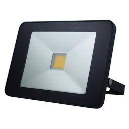 Design LED-schijnwerper met PIR - 30W Neutraal Wit - Wit - LEDA5003