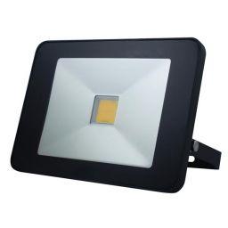 Design LED-schijnwerper met PIR - 50W Neutraal Wit - Zwart