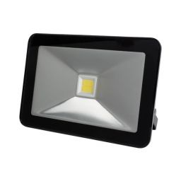 Design LED-schijnwerper - 50W Warm Wit - Zwart