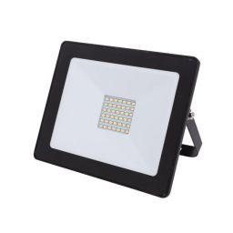 LED Schijnwerper voor buitenshuis - 30W Neutraal Wit - Zwart