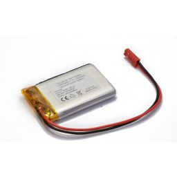 Lithium Ion polymer battery 3,7V 1500mAh.