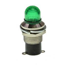 Retrolamphouder E5 groen ***