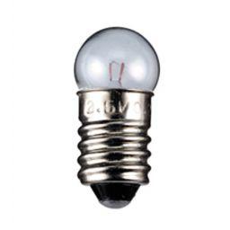 Ballonlamp E10 12V / 100mA 1,2W