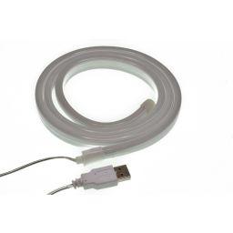 Neon lichtslang - Wit - 1 meter - Met USB-aansluiting - Ledslinger
