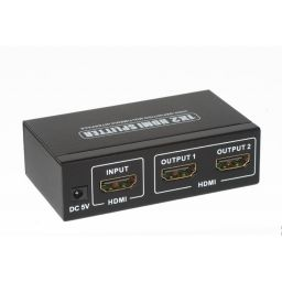 Mini HDMI 1*2 splitter 4K*2K