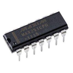 MAX251CPD+ Line Transceiver RS-232 2-TX 2-RX 5V 14-pin PDIP***