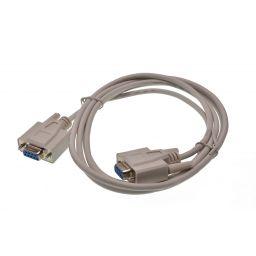 Data kabel - 9-pin SUB-D vrouwelijk  9-pin SUB-D vrouwelijk - 1,8 meter