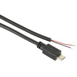 Micro USB stroomkabel met vrije aansluituiteinden