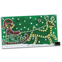 Rijdende kerstman