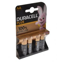 Duracel plus AA  4pcs