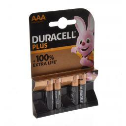 Duracell plus AAA  4pcs