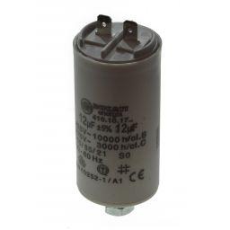 Motor run capacitor 12 µF 35,5x74mm 450Vac 5%  85°C