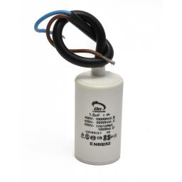 Motor run capacitor 1.5 µF 30 x 50mm 450Vac 5%  85°C