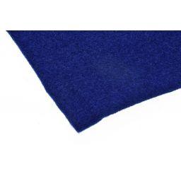 Hoedenplakstof Blauw 70x1m40 CARPET ***