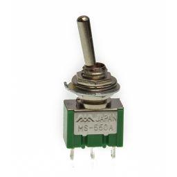MS-550A -Toggle Switch Enkelp. ON-ON 3A-125V/1A-250V