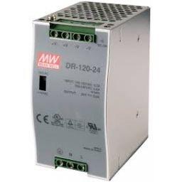 Industriële voeding voor DIN-RAIL Meanwell 24V 120W