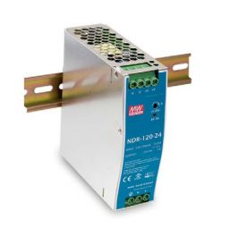 Industriële voeding voor DIN RAIL Meanwell 24V 5A 120W