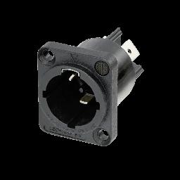 PowerCON® TRUE1 TOP male chassis connector - Neutrik