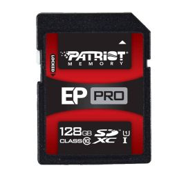 Patriot PRO geheugenkaart SDXC Class 10 128GB