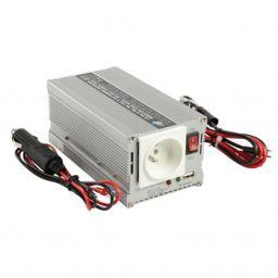 Omvormer 12 V - 230 V 300 W met USB