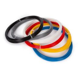 Set met PLA-filament 1.75 mm - 6 kleuren - voor 3D-printer en 3D-pen