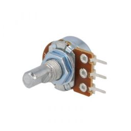 Low cost potentiometer 50K lineair 125mW axiaal