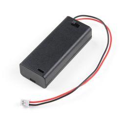 Batterijhouder voor 2 x AAA-cel met JST aansluiting