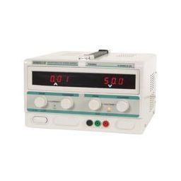 Laboratoriumvoeding 0-50V / 0-5A Dubbele LED display