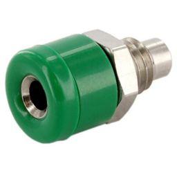 Geïsoleerde stekkerbus -Groen - 2,6mm