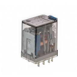 Industriële Relais DPDT 12VDC 10A/250VAC 140ohm