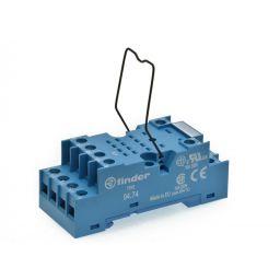 Voet voor industriële relais DIN Rail schroefaansluitingen