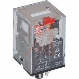 Industriële Relais 2PDT 110VAC 10A/250VAC 1,9kohm***