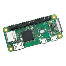 Raspberry PI zero wireless met headers