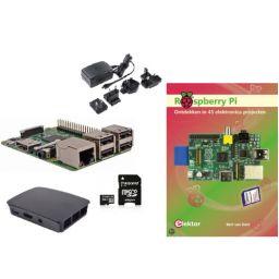 Starterkit Raspberry PI 3 B met Nederlandstalig handboek met 45 projecten