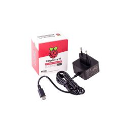 5,1V 3A USB-C voeding - Officiële Raspberry PI voeding