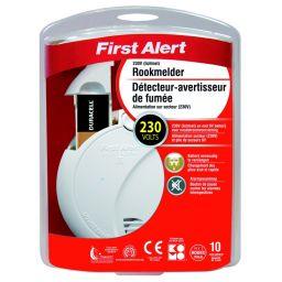 First Alert rookmelder op 230V