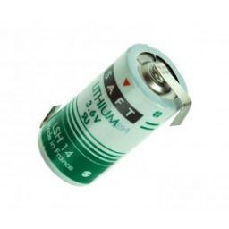 SAFT C Lithium 3,6V 5500mAh - 26 x 49mm - Met soldeerlippen
