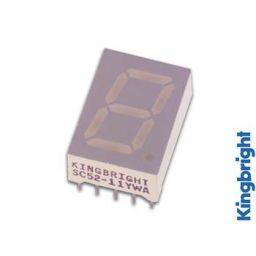 1-digit display 13mm gemeenschappelijke cathode rood ***